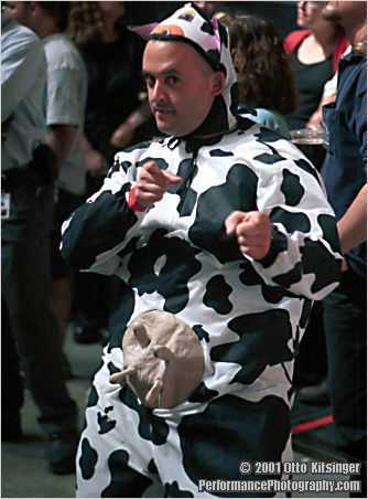 Live concert photo of Boston's own Cowman