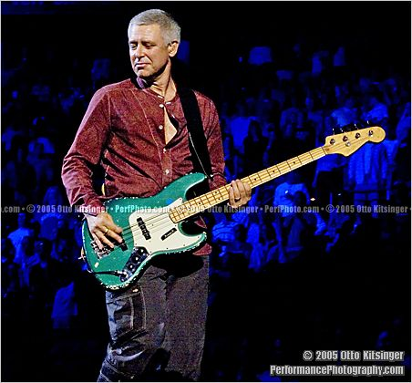 Live concert photo of Adam Clayton