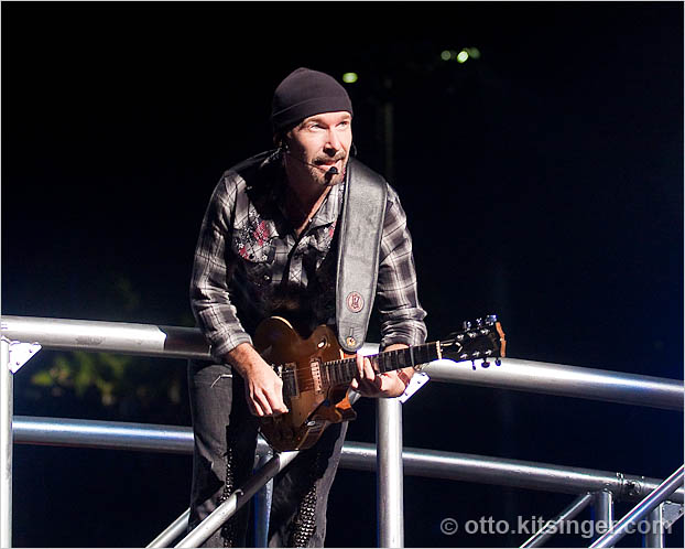 Live concert photo of The Edge